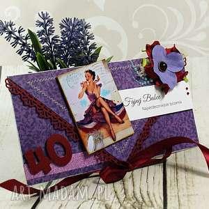 kartka z okazji 40 urodzin- fajna babka, czterdziestka, urodziny, urodzinowa
