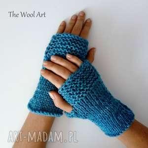 the wool art rękawiczki mitenki, rękawiczki, ocieplacze, wełniane