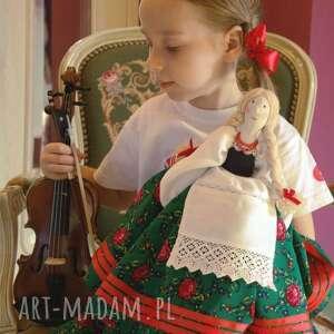 lalka kurpianka w stroju ludowym, lalka, kurpianka, spersonalizowane, prezent