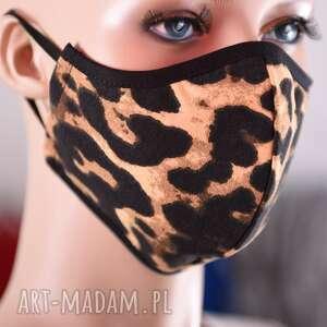 agata re maseczka ozdobna pantera ochronna profilowana, damska