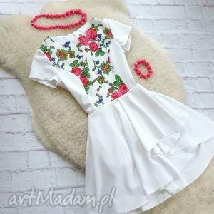 Sukienka góralskie kwiaty folk , sukienka, folk, kwiaty, góralska, ludowa, cleo