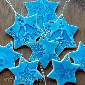 zestaw zawieszek, zawieszki, śnieżynki, gwiazdki, choinka, stroik, świąteczne