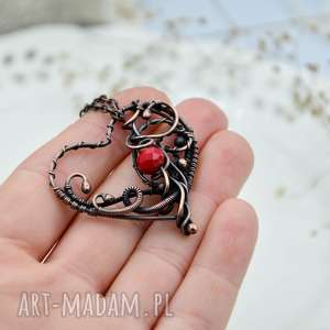 Heart - naszyjnik romantyczny z sercem naszyjniki pracownia