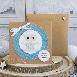 Personalizowana kartka dla chłopczyka - Narodziny, Chrzest, Roczek, Urodziny itp