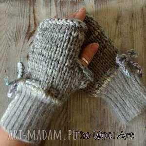 rękawiczki mitenki - rękawiczki, mitenki, nadłonie, naprezent