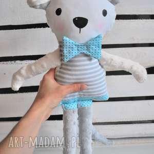 Mysz Elegancik :) , myszka, przytulanka, dziecko, pokój, łóżeczko, maskotka