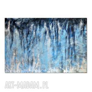 tierra el hielo 6, abstrakcja, nowoczesny obraz ręcznie malowany