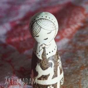 aksinicoffeepainting wiejski spokój - ręcznie wypalana - pirografia