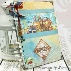 Przepiśnik- owocowa spiżarnia, przepiśnik, książka, kucharska, notes, kulinarny