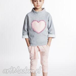 Bluza DB06M, serce, bawełniana, wygodna, serduszko, tiul, oryginalna