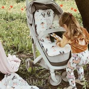 Wkładka do wózka wesołe leśniaki - coramelli pokoik dziecka