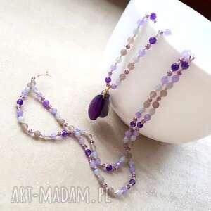 ultra violet, długi, supełkowy, pantone, boho, chwost, trendy