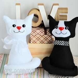 Para ślubna - kotki torebkowe plus dodatki ślub maly koziolek