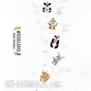 ręcznie wykonane pokoik dziecka boho animals - girlanda zwierzęta