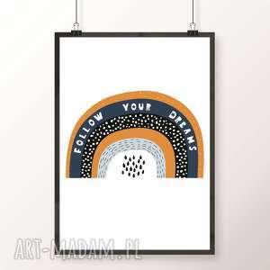 plakat tĘcza a3, tęcza, rainbow, plakat, obrazek, tęczowy, musztarda