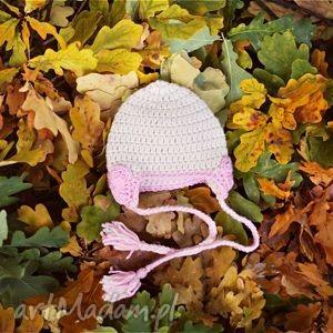 ubranka czapka serduszka, czapka, wiosna, prezent, serduszko, włóczka, głowa