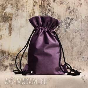 plecaki bbag mellow 2, elegancki, pluszowy, welurowy, aksamitny, dziewczęcy, prezent