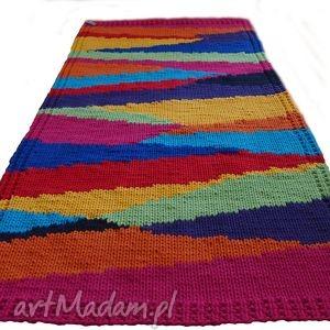 dywan dziergany tukan, dywan, sznurkowy, dziergany, pleciony, ekodywan dywany, święta