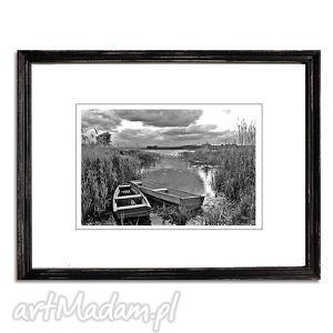 Razem, fotografia autorska, fotografia, pejzaż, łodzie, łódki, rzeka