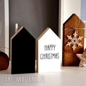 upominek Domki drewniane, domki, domek, drewniany, anioł, gwiazda, choinka