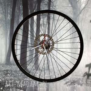 Zegar black panda zegary bikes bazaar duży, industrialny