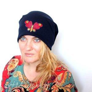 czapki czapka dresowa damska wiosenna z motylem, czapka, wiosna, rower, sport