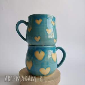 handmade ceramika zestaw dwóch kubków