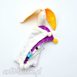 zamówienie specjalne przytulanka dla niemowląt - szmatka, sensoryczna, metki