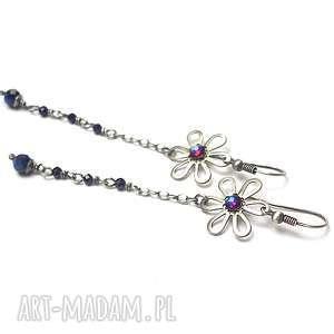 blue flower vol. 2 - kolczyki