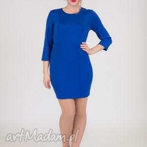 31 - klasyczna mini sukienka - sukienka, dzianina, mini