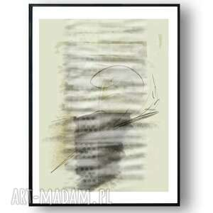 grafika w ramie simplicity no 44 30x40, nowoczesne, delikatne, fajne, jasne