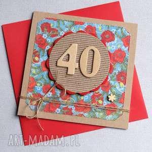 dowolna liczba kartka urodzinowa, urodziny, maki