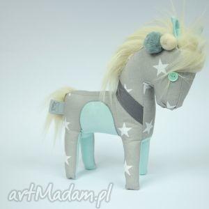 zabawki konik - zabawka / przytulanka hand made, konik, koń, prezent, dziecko