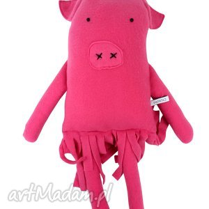 hand made zabawki przytulanka świnka