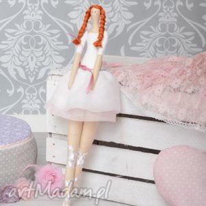 lalki baletnica, dekoracja, ruda, tancerka, wyjątkowy prezent