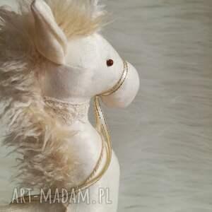 Dekoracja tekstylna konik, unikat, szyty, koń, urodziny, chłopczyk, dziewczynka