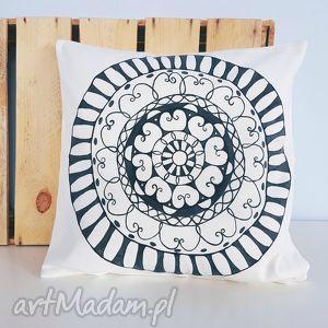 ręcznie wykonane poduszki poduszka mandala 40x40