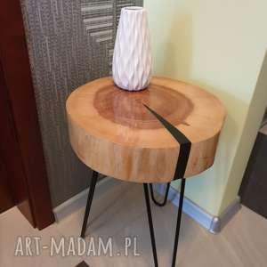 Stolik kawowy z żywicy epoksydowej stoły sciete