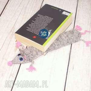 szczurek zakładka do ksążki, szczur, zakładka, prezent, książka, czytanie