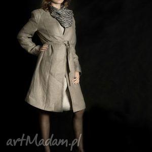 handmade płaszcze lniany płaszcz