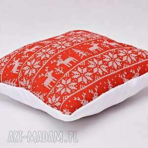 Prezenty pod choinkę: Poduszka świąteczna, na święta ozdobna