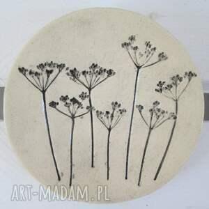 malutki roślinny talerzyk 2, ceramiczny, talerzyk, na-biżuterię, dekoracyjny