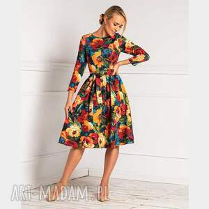 sukienki sukienka marie 3/4 midi samara