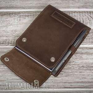 hand made notesy ręcznie robiony skórzany notes mały a6 100%