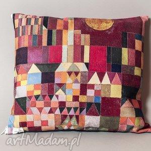 Poszewka na poduszkę (jasiek) - Paul Klee, klee, sztuka, dekoracje, bauhaus, jakiek