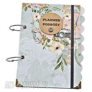 Prezent Planer Podróży - niezbędnik Podróżniczki, planer, planner, podróż,