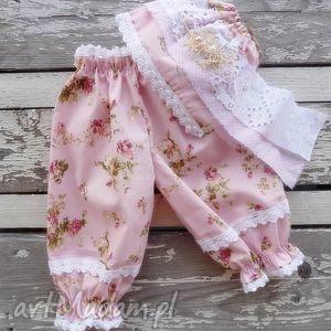 Spodenki bonetka maju hand made ubranka, dziecko, noworodek,