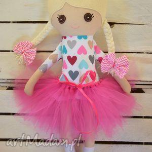 hand-made zabawki szmacianka, szmaciana lalka baletnica