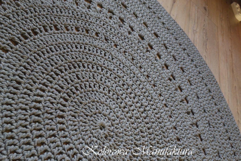 szare dywany chodnik dywan ażur grey 160