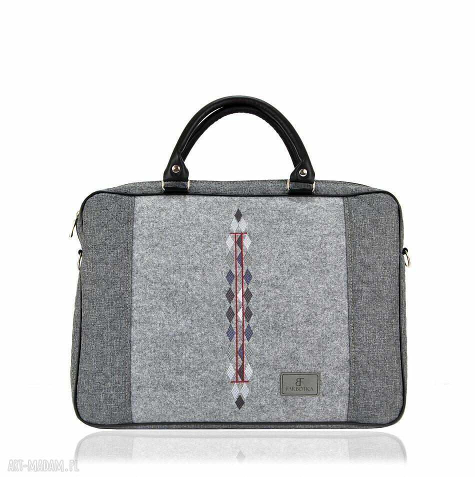 handmade na laptopa torba na laptopa romby 793